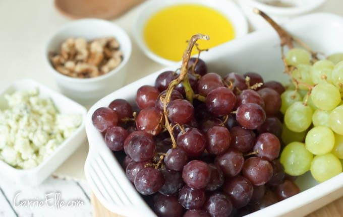 Grape Walnut Salad Ingredients