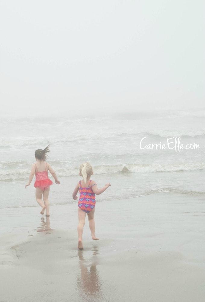 Foggy in Galveston