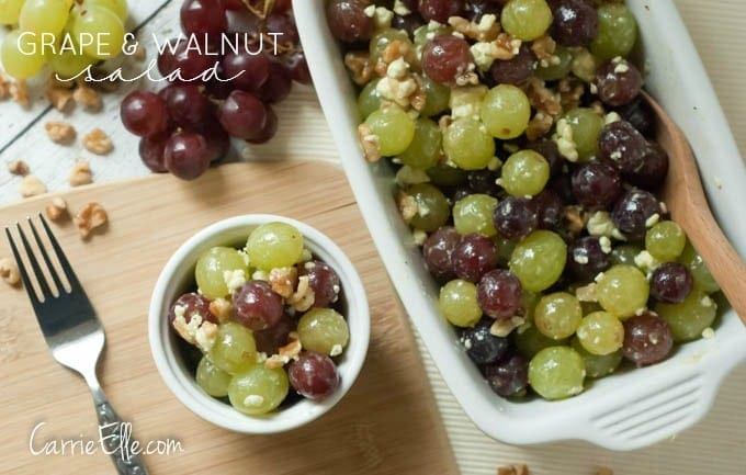 Grape & Walnut Salad