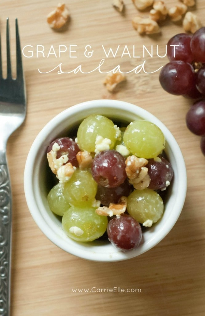 Grape and Walnut Salad