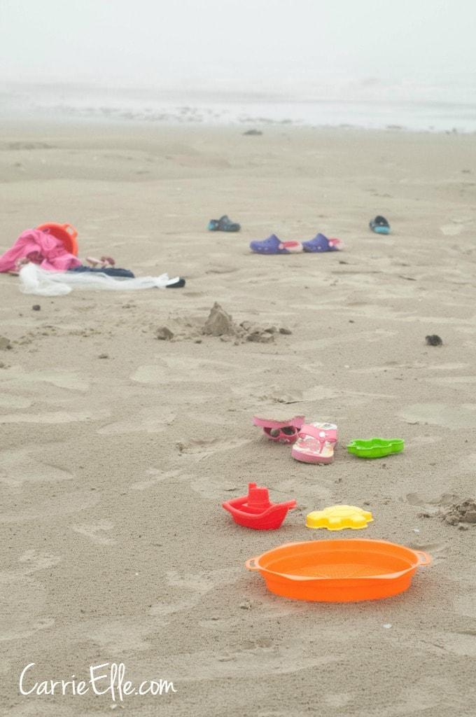 Mess at Beach