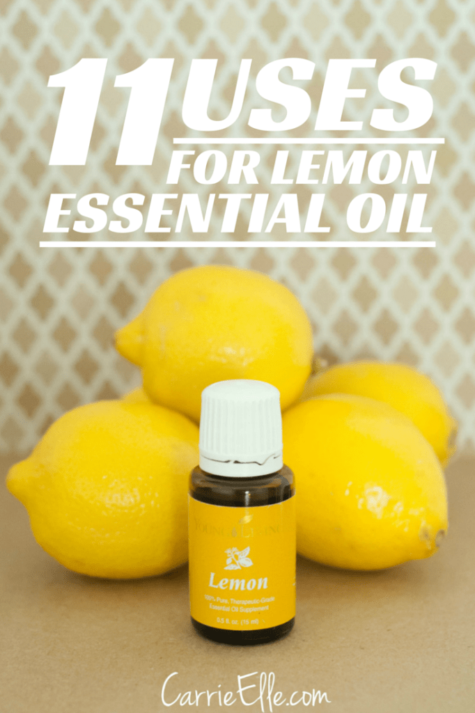 Uses for Lemon Essential Oil