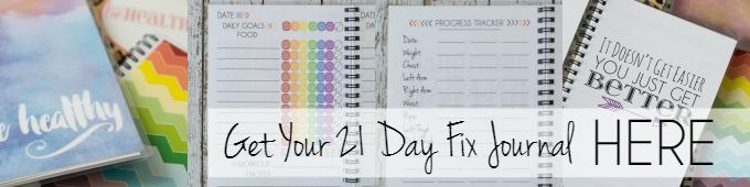 21 Day Fix Journal