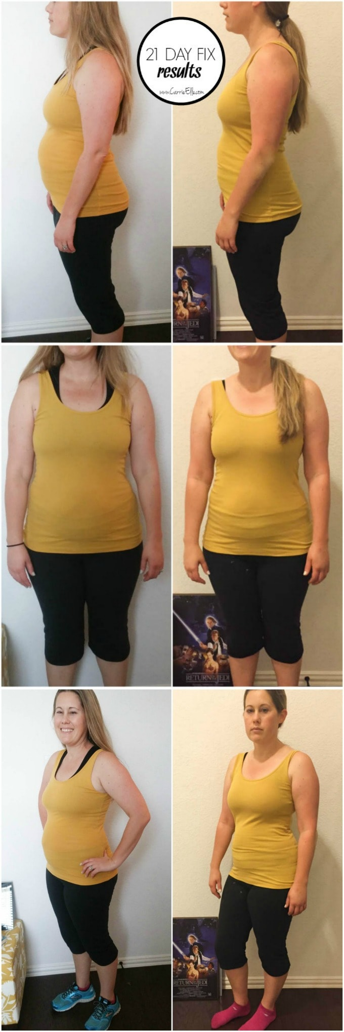 21 Day Fix Results First Round