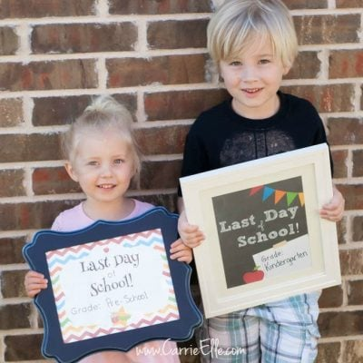 Free Last Day of School Printable