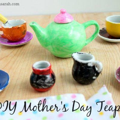 DIY Mother's Day Teapot