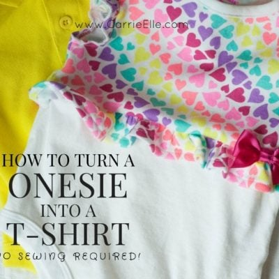 How to Turn a Onesie into a T-Shirt (and Other Play-Friendly Clothing Ideas for Babies)