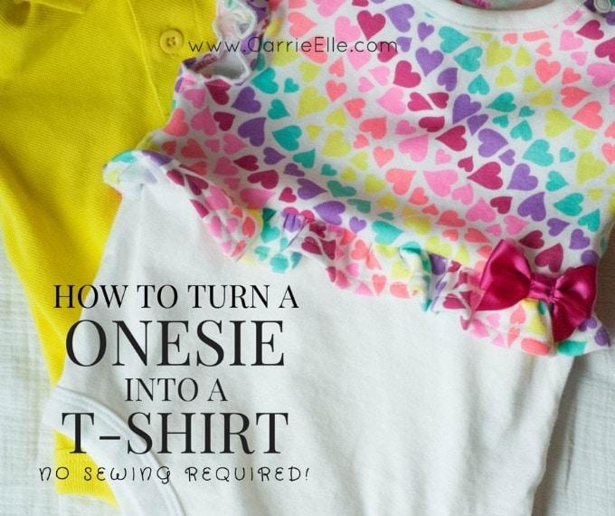 Onesie to T-Shirt