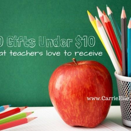 Teacher Gifts Under $10