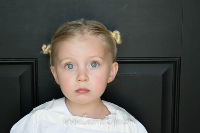 Princess Leia Hair for Little Girls