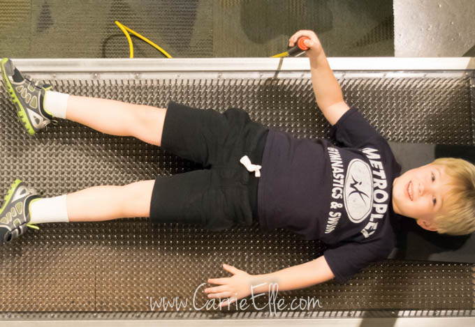 Discovery Center Bed of Nails