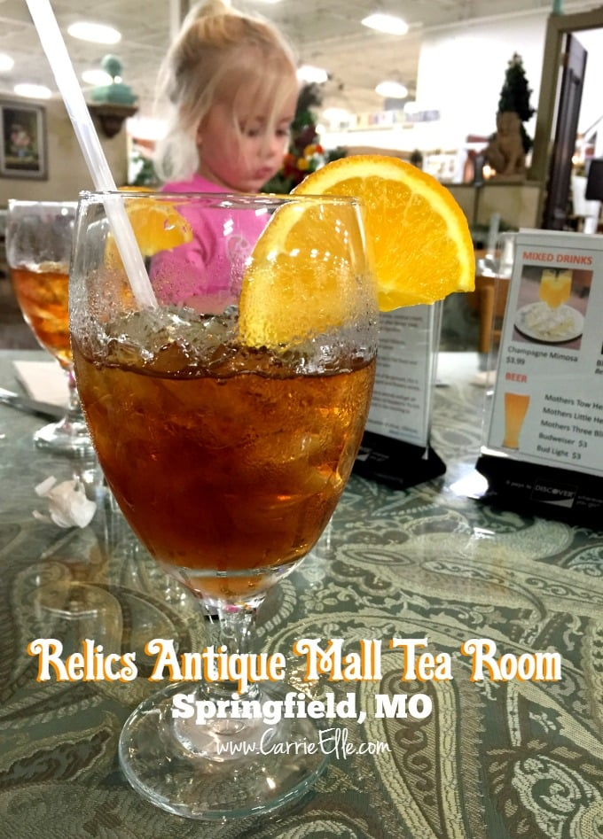 Relics Antique Mall Tea Room Tea