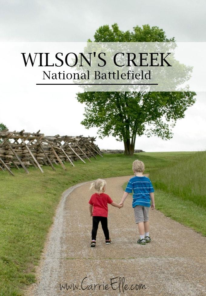 Wilson's Creek National Battlefield with Kids