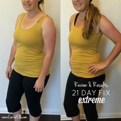 21 Day Fix Extreme Review and Results