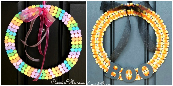 Candy Wreaths