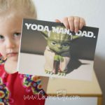 Free Printable Father's Day Card: Star Wars