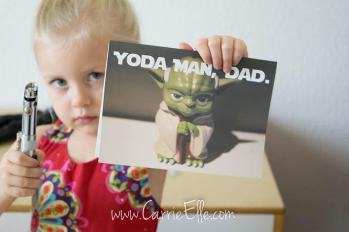 Yoda Father's Day Card