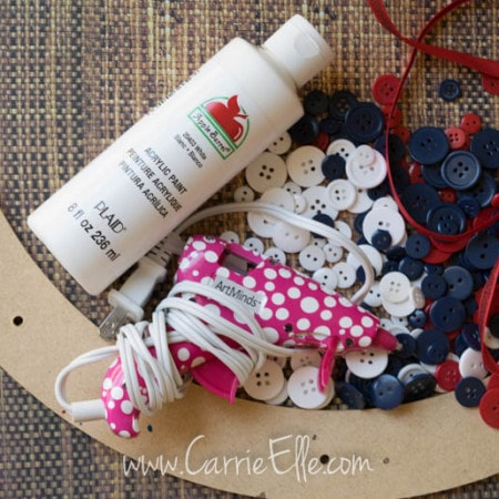 Easy DIY wreath supplies