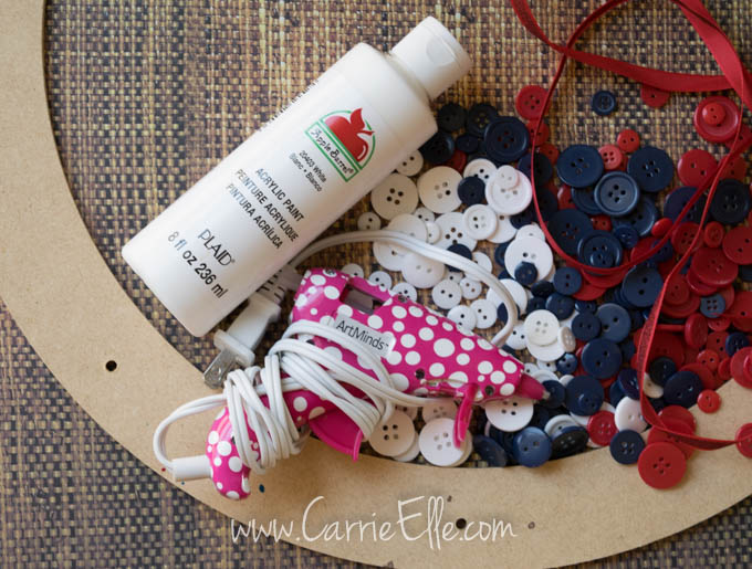 Easy DIY wreath supplies