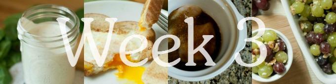 Week 3 Meal Plan