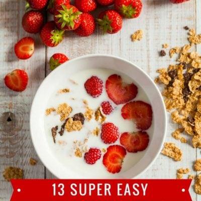 Easy Back-to-School Breakfast Food Ideas