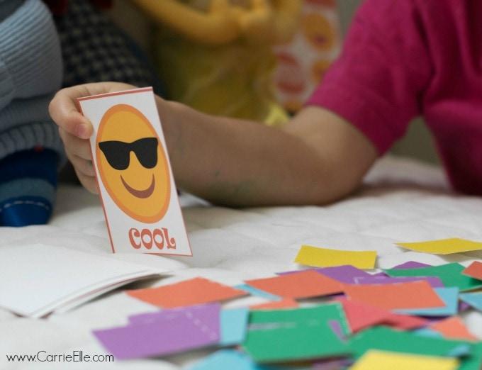 Emotion Bingo Cards