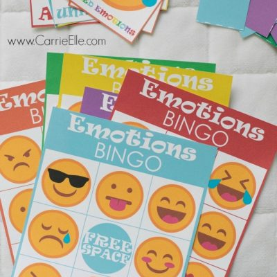 Inside Out Printable Bingo Game