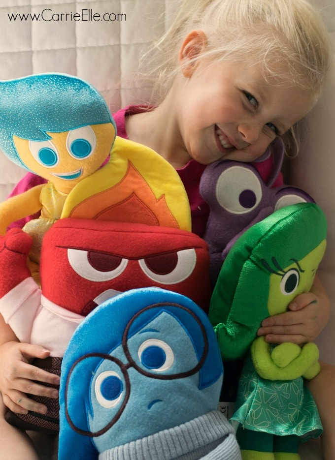 Inside Out Toy Characters