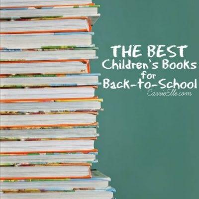 Best Children's Books for Back-to-School