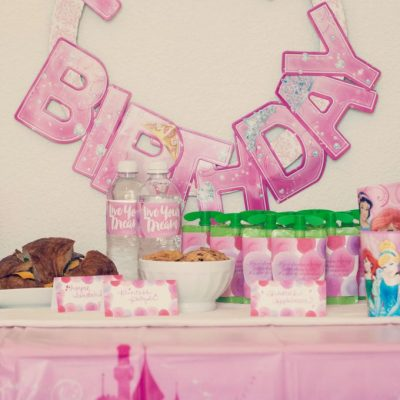 Disney Princess Birthday Party: Free Printables and Simple Craft Ideas!