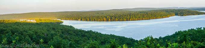 Panoramic Lake Eufala