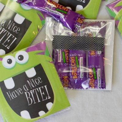 "Printable ""Have a Nice Bite!"" Treat Bag Labels"