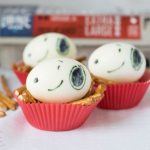 Snoopy Hard-Boiled Eggs Make Healthy Party Snacks!