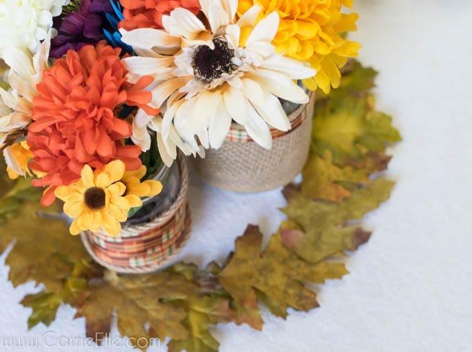Easy Fall DIY Centerpieces