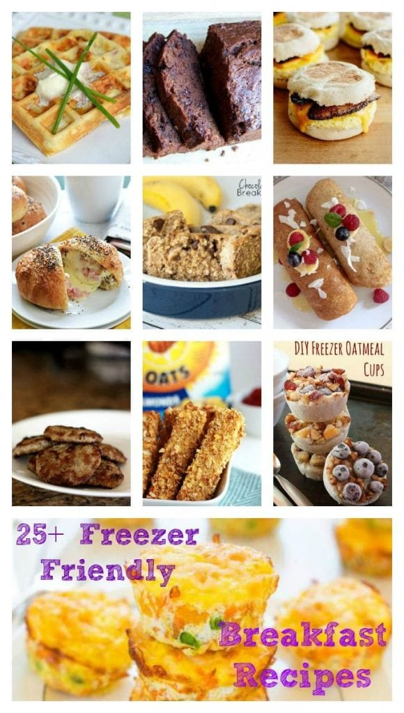 Freezer-Friendly Breakfast Ideas