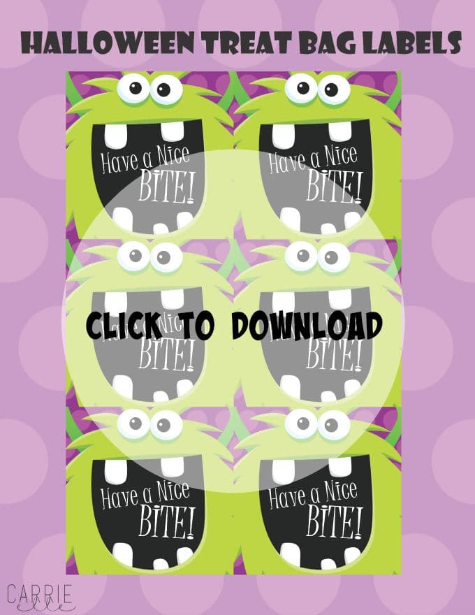 Halloween Treat Bags Download