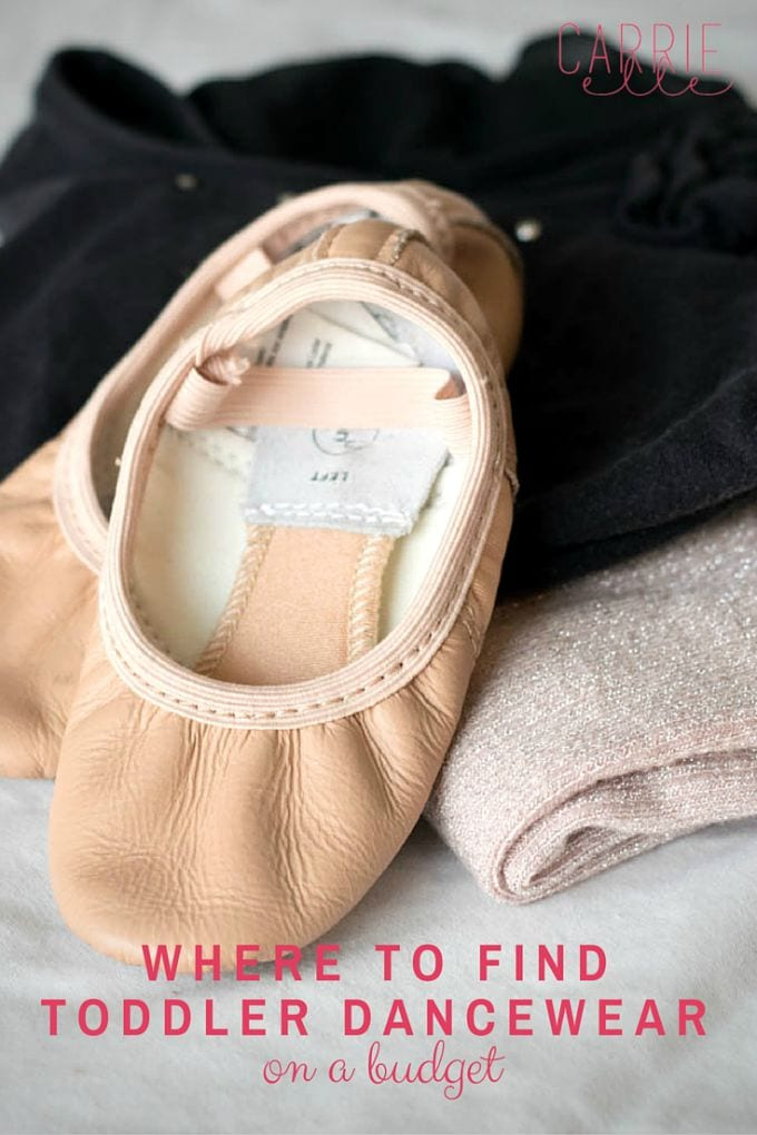 Where to Find Toddler Dancewear