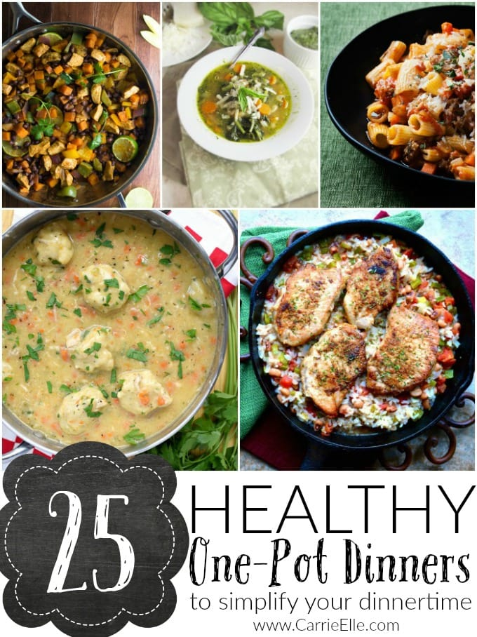 25 Healthy One-Pot Dinners
