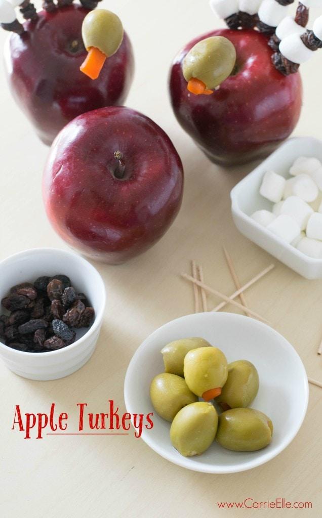 Apple Turkey Crafts