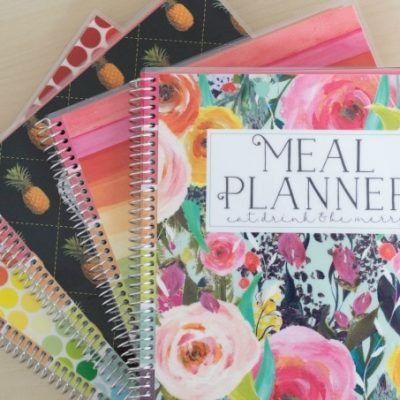 New Carrie Elle Meal Planner – Come Take a Peek!