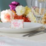 Free Thanksgiving Printables: Thanksgiving Place Cards