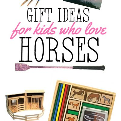 Gifts for Kids Who Love Horses