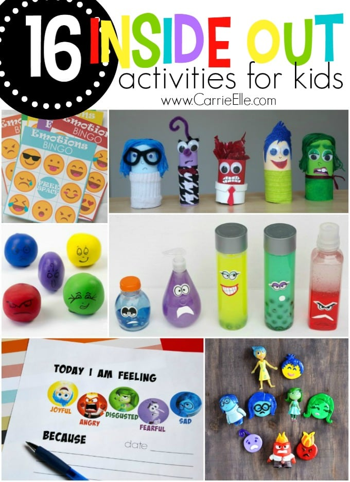 Inside Out Activities for Kids