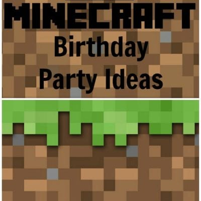 12 Minecraft Party Ideas