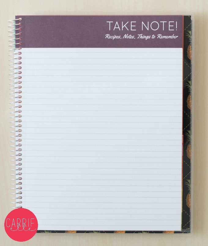Note Pages