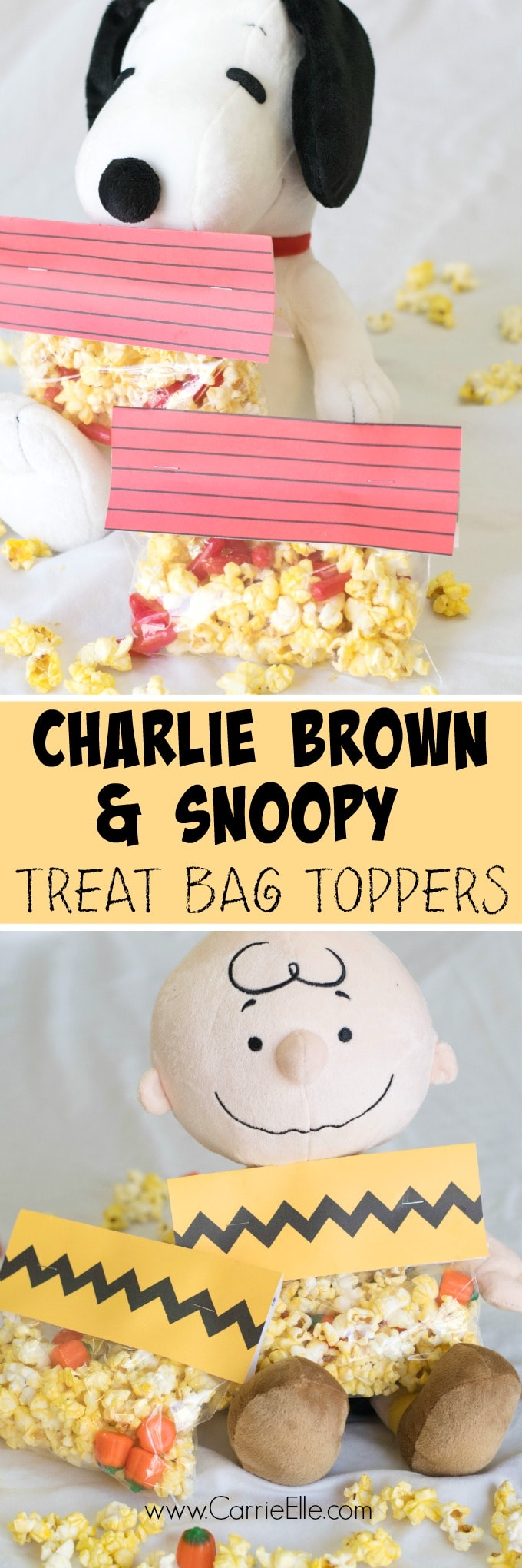 Free Party Printables: Charlie Brown and Snoopy Printable Bag ...