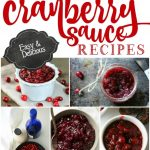Crock Pot Cranberry Sauce Recipes