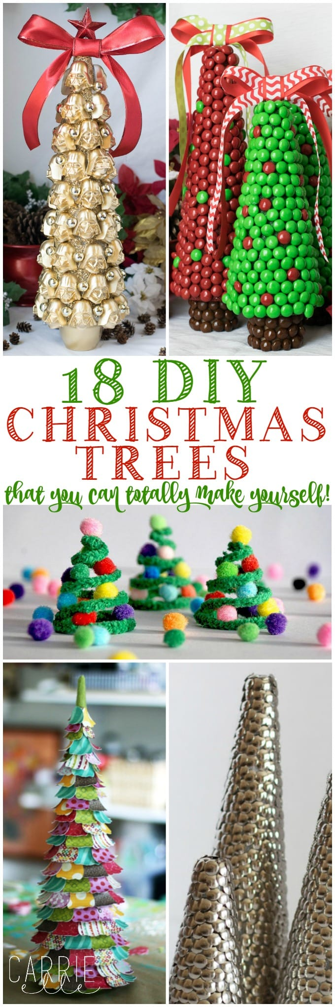 DIY Christmas Tree Crafts