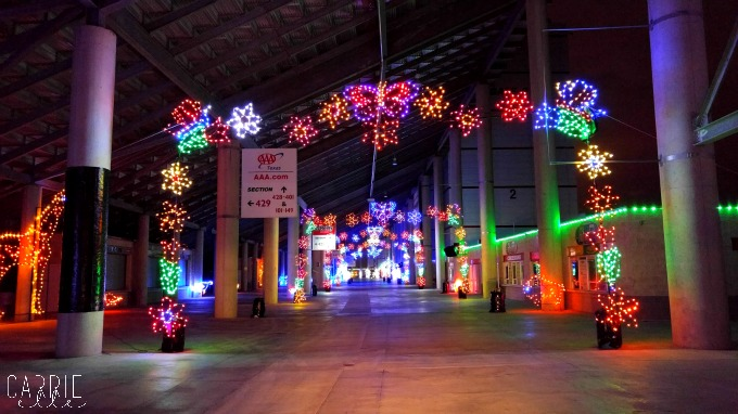 Gift of Lights at Texas Motor Speedway - Carrie Elle