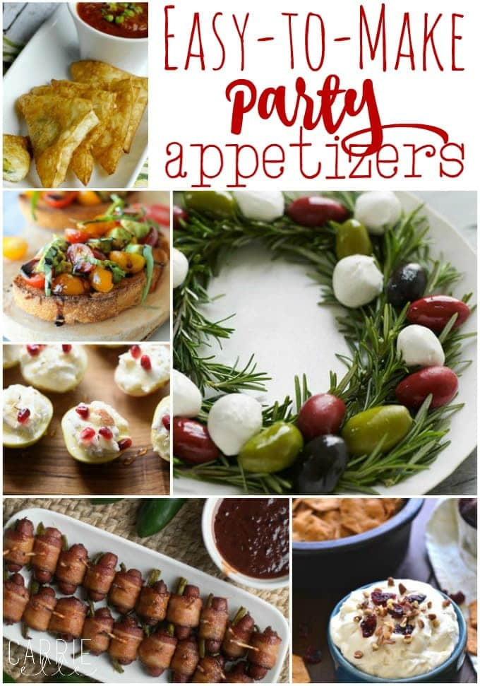 14 Easy Party Appetizers